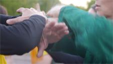 Tai Chi Chuan : poussée des mains