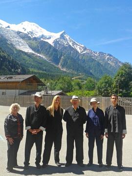 L'équipe Emergeons! à Chamonix en 2014