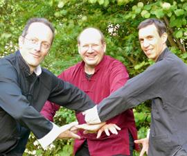 Les enseignants Emergeons! De gauche à droite : Olivier Zumbrunn, Philippe Schweickart, Sébastien Marie